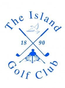 The Island Golf Club brand logo